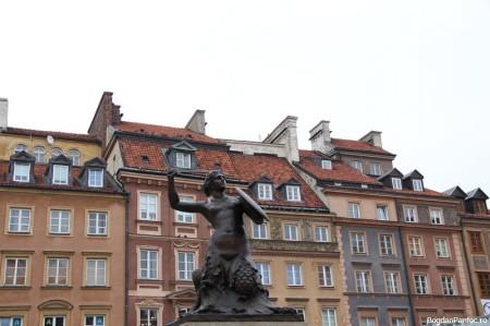 Sirena Varsoviei - simbolul orasului