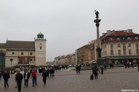 Piata Castelului si Coloana lui Sigismund