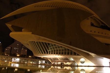 Orasul Artelor si Stiintei Valencia Palatul Artelor Regina Sofia (4)