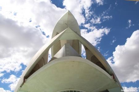 Orasul Artelor si Stiintei Valencia Palatul Artelor Regina Sofia