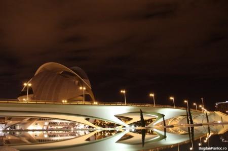 Orasul Artelor si Stiintei Valencia puente de monteolivete