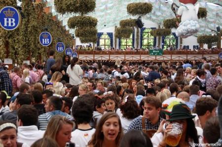 Oktoberfest Munchen 2014 Hofbräu Festhalle_IMG_2829