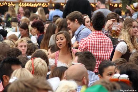 Oktoberfest Munchen 2014 Hofbräu Festhalle_IMG_2834