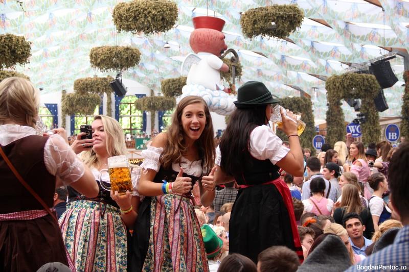 Oktoberfest – O plimbare in imagini prin corturile principale