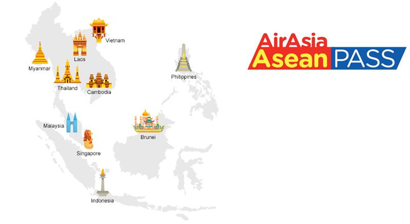 AirAsia Asean Pass – calatorii cu pret (aproape) fix pe 148 de rute din Asia de Sud-Est