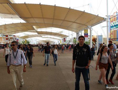 O plimbare in imagini prin Expo2015, Milano