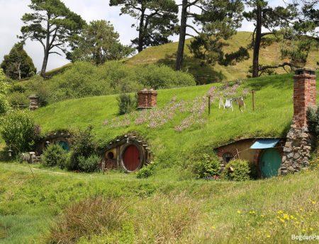 Singurul turist de la Hobbiton Movie Set – Noua Zeelanda