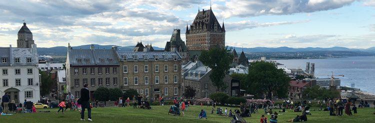 La pas prin Canada: Impresii din Quebec City