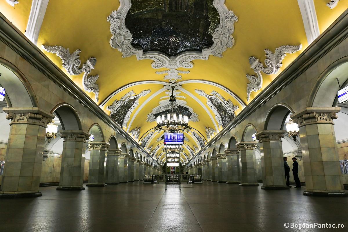 O Plimbare In Imagini Prin Statiile De Metrou Din Moscova Bogdan
