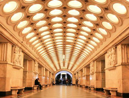 O plimbare in imagini prin statiile de metrou din Moscova