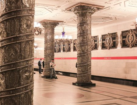 O plimbare in imagini prin statiile de metrou din St. Petersburg