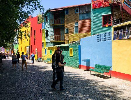 Buenos Aires – Cartierele Palermo si La Boca