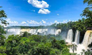 Cascadele Iguazu, partea argentiniana