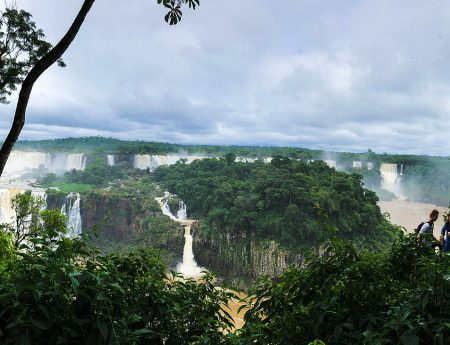 Cascadele Iguazu, partea braziliana