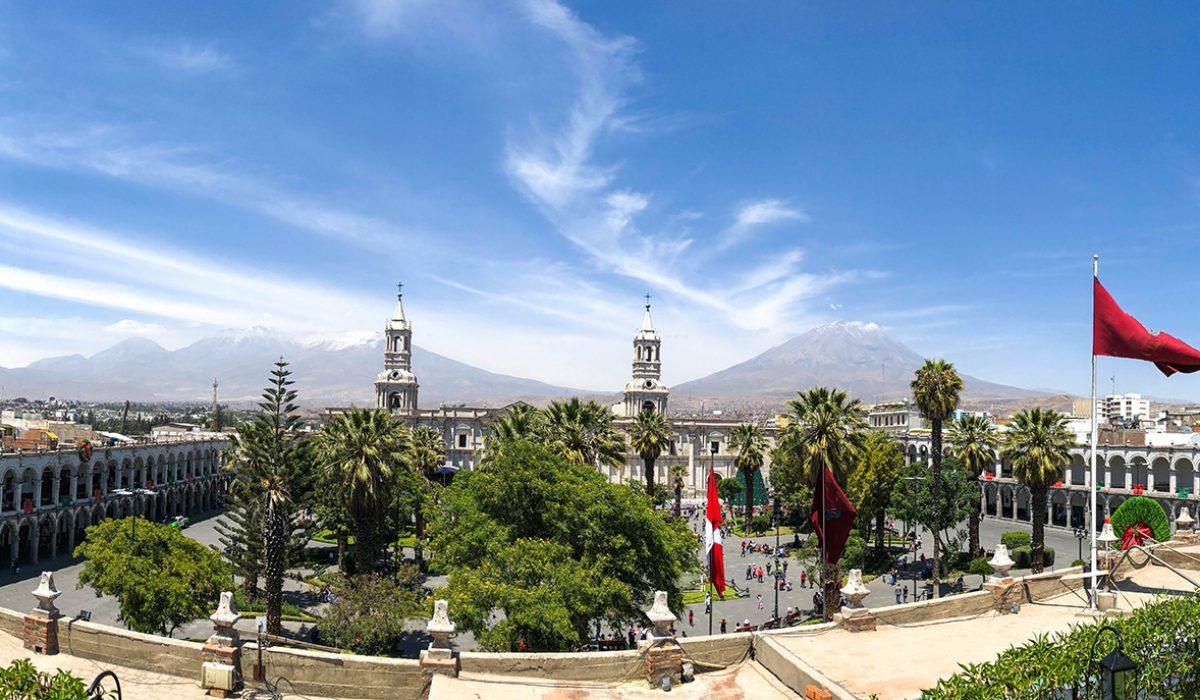 Impresii din Arequipa, Peru