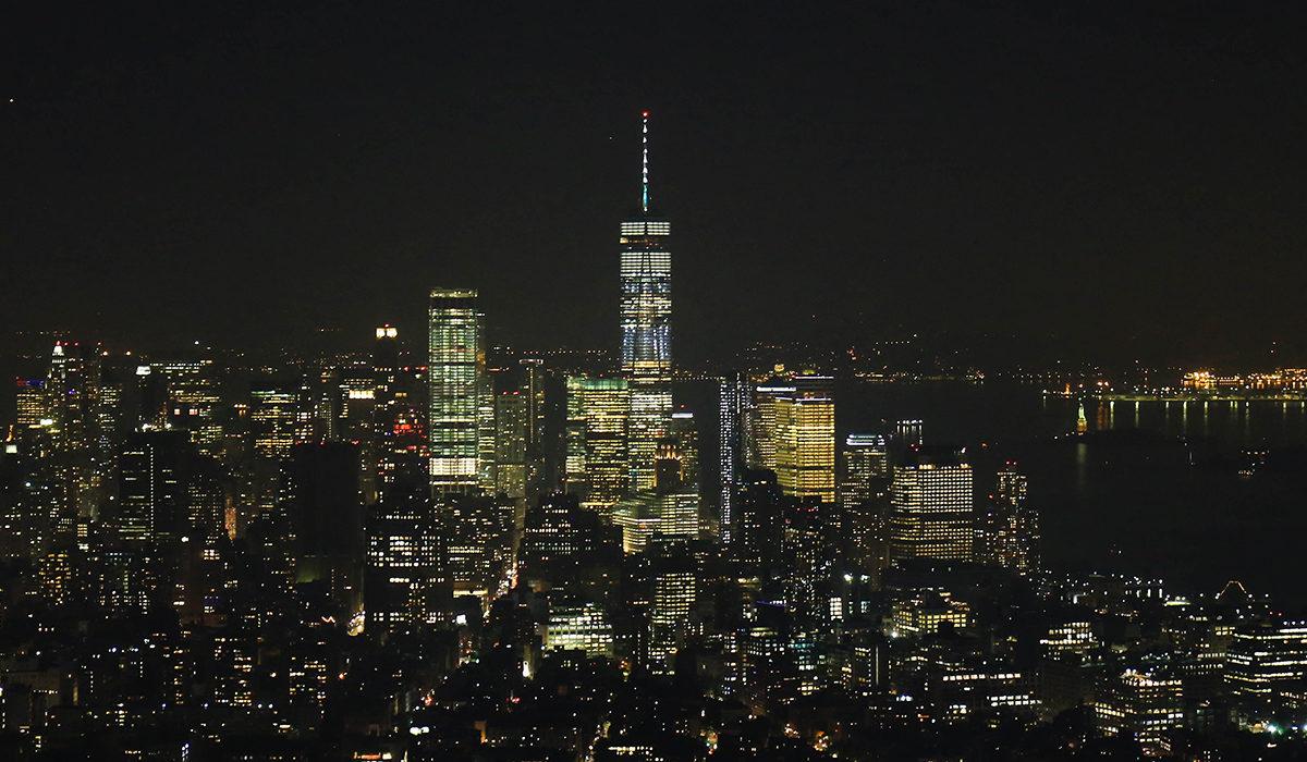 Cum se vede New York-ul de la inaltime