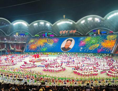 Deschiderea Mass Games 2019, cu Kim Jong-un invitat special – Coreea de Nord